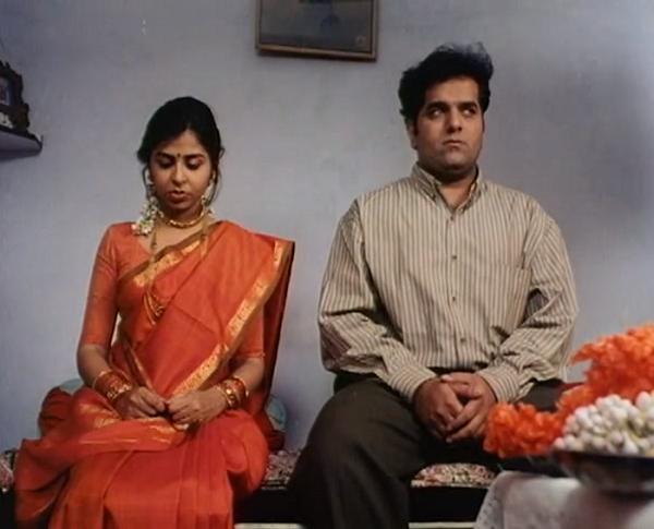 Elahe Hiptoola and Vikram Inamdar in Hyderabad Blues (1998). Courtesy Kukunoor Movies.