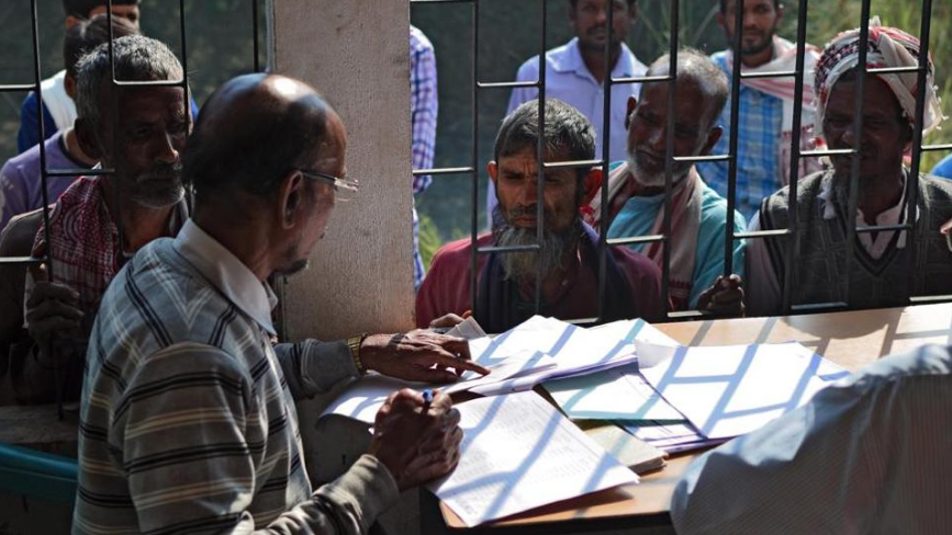 Assam is scheduled to release the draft of its updated National Register of Citizens on June 30. (Photo credit: AFP)