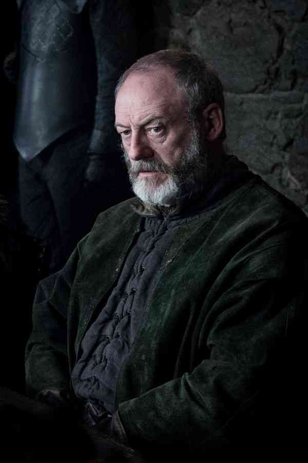 Liam Cunningham as Davos Seaworth. Courtesy HBO.