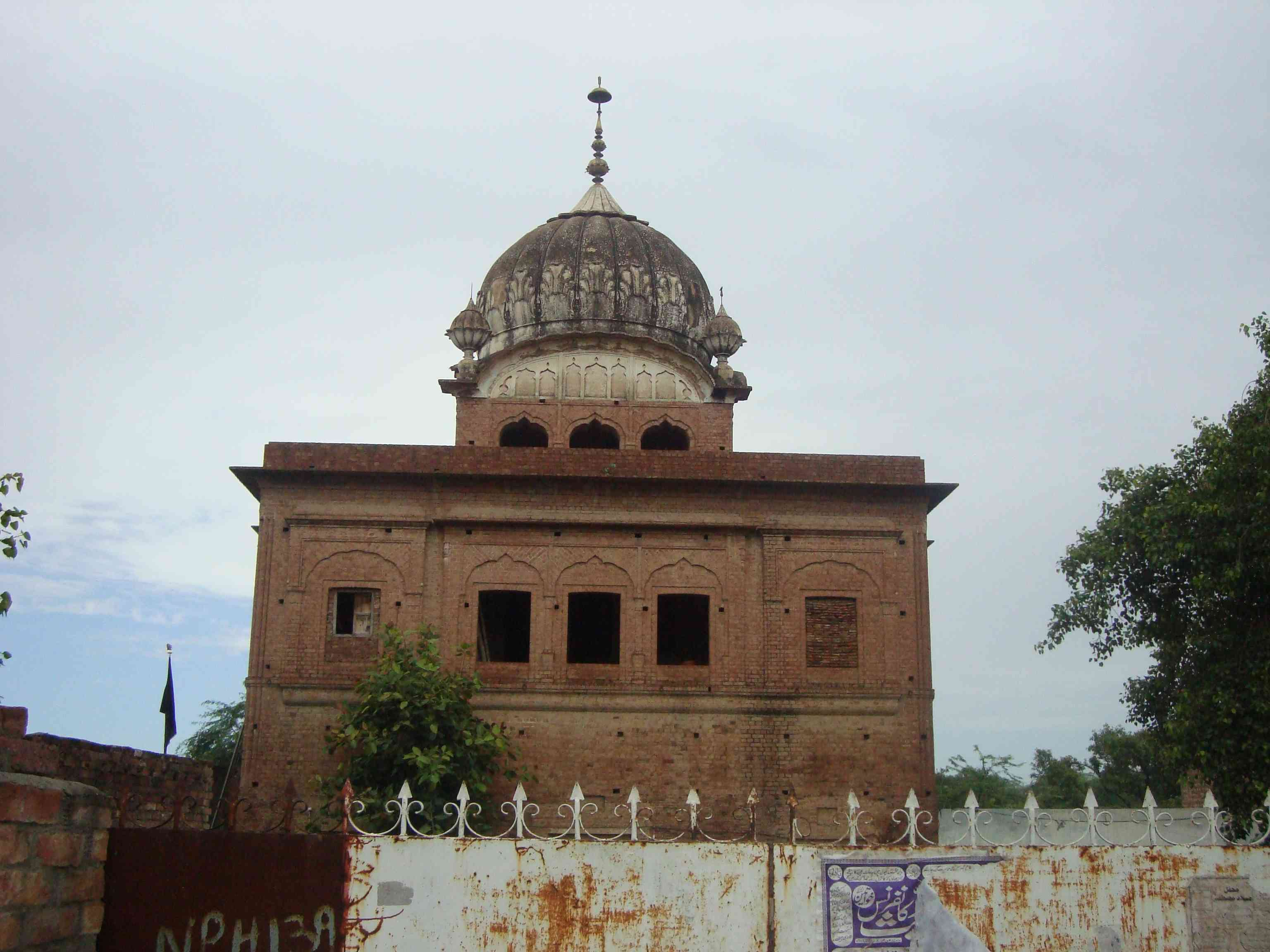 The gurdwara of Guru Hargobind in Padhana village is one of several shrines dedicated to the sixth Sikh guru in Pakistan.