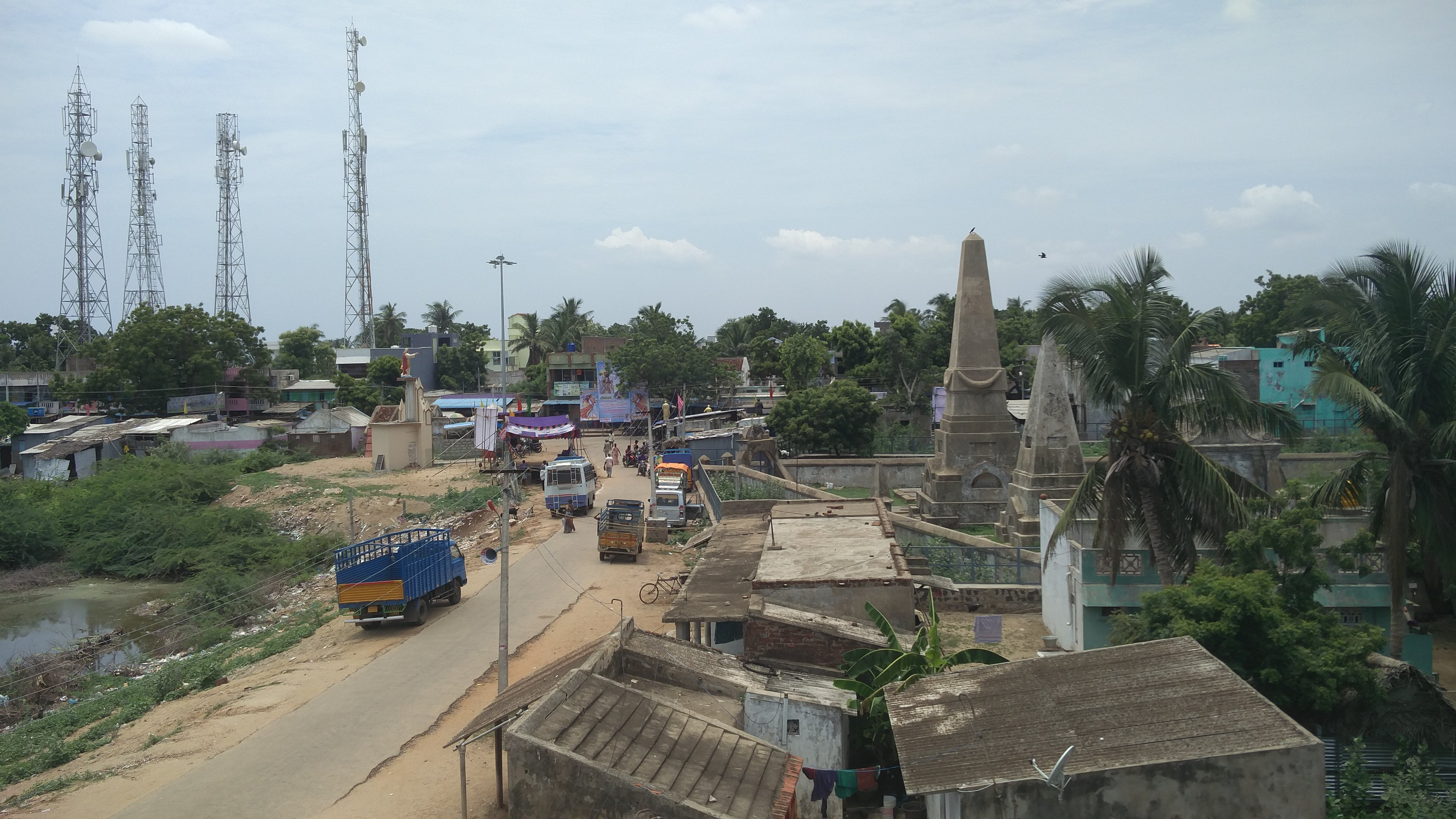 The town of Pulicat. Photo credit: Vinita Govindarajan
