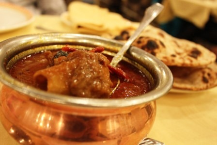 Laal maas, a signature spicy meat dish from Rajasthan (Image courtesy: Finelychopped.net).