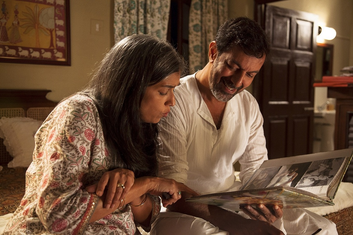 Ratna Pathak Shah and Rajat Kapoor in 'Kapoor & Sons'.