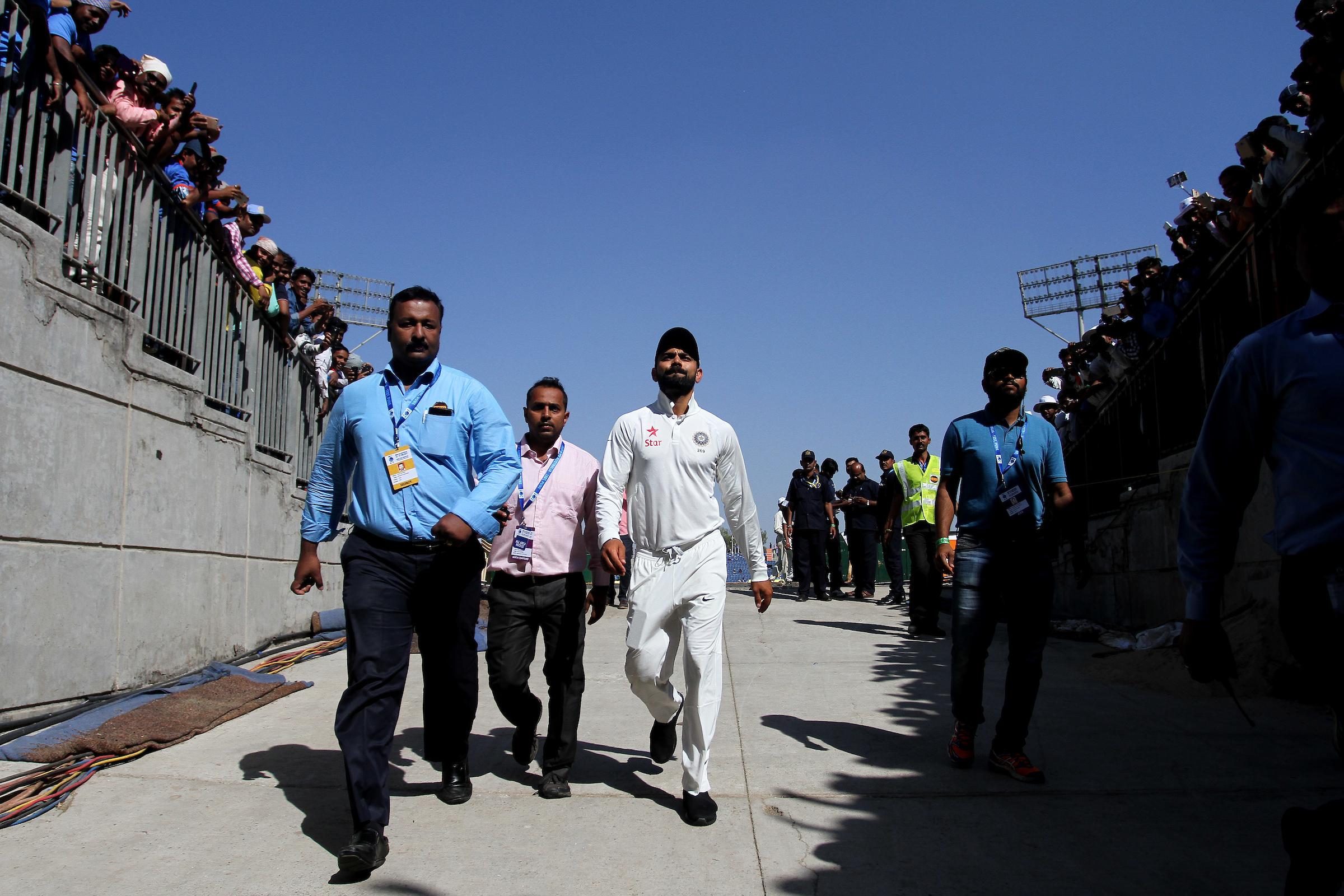 Virat Kohli will not sugar-coat anything. BCCI/Sportzpics
