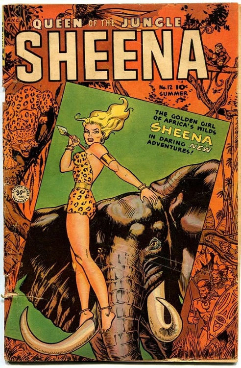 Sheena, Queen of the Jungle.