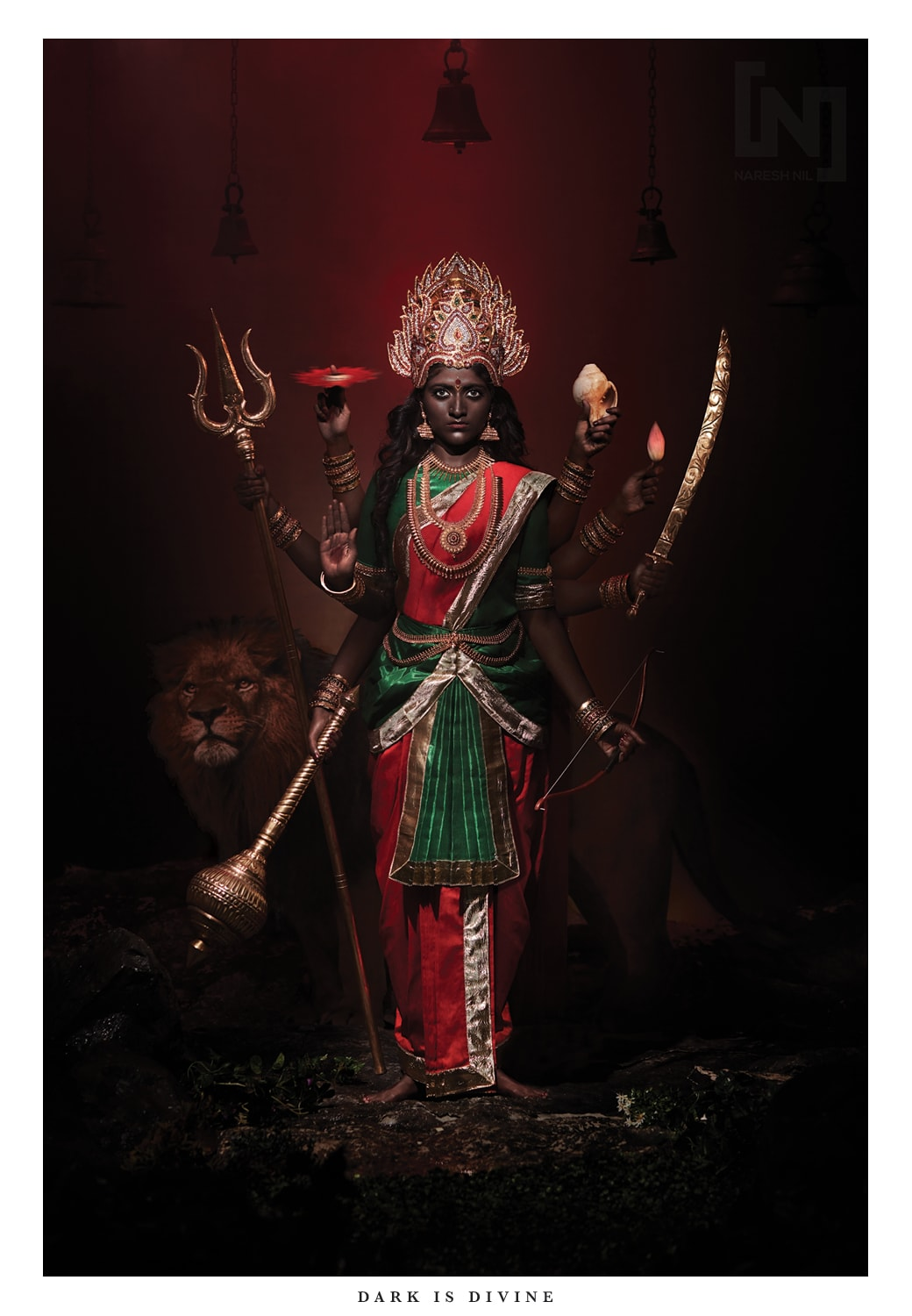 Durga (Photograph by Naresh Nil).