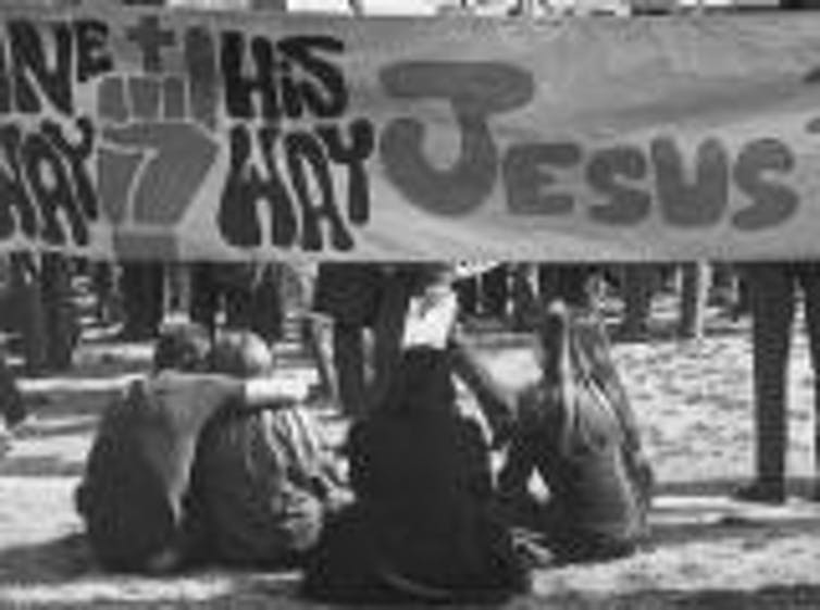 The Jesus Movement. Photo credit: 2017 The Hollywood Free Paper [Licensed under CC BY 4.0]