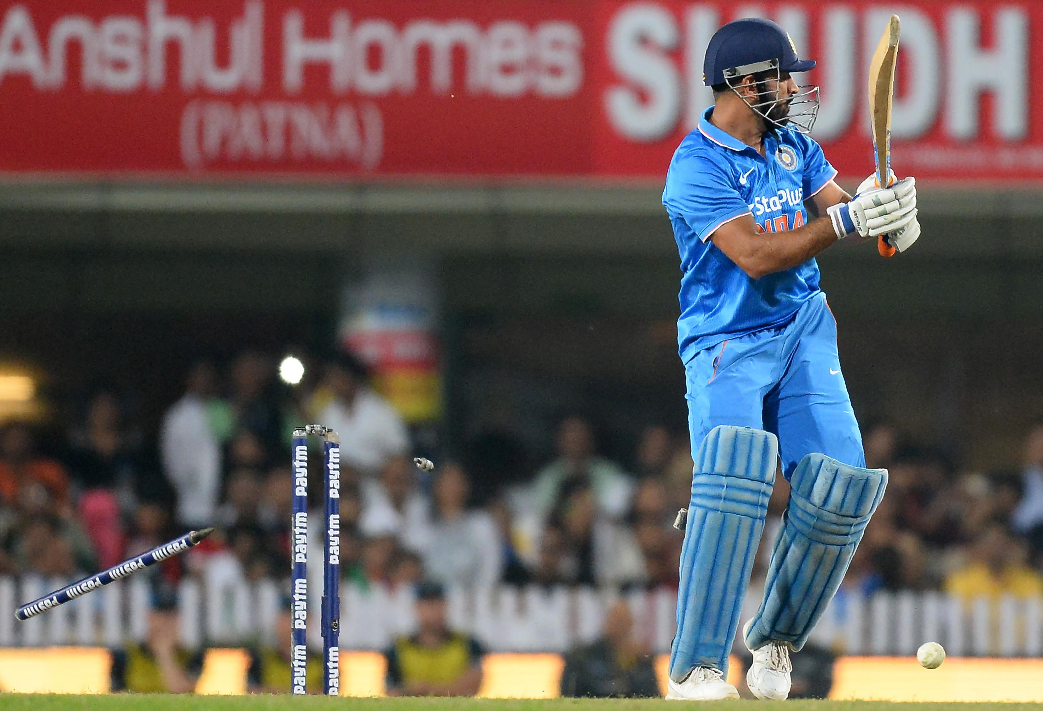 India lost three successive ODI series under Dhoni's captaincy in the 2015'16 season