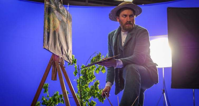 Actor Robert Gulaczyk plays Van Gogh. Image credit: Breakthru Films.